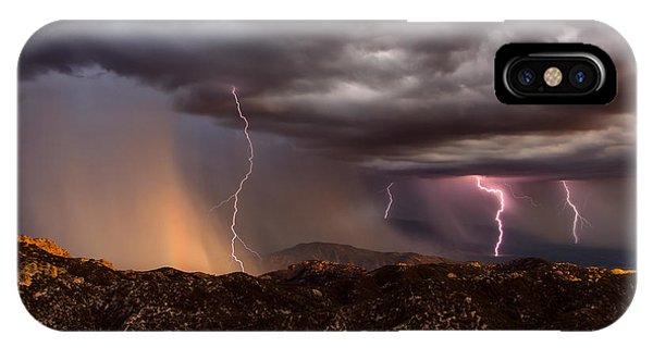 Thunder Mountain IPhone Case