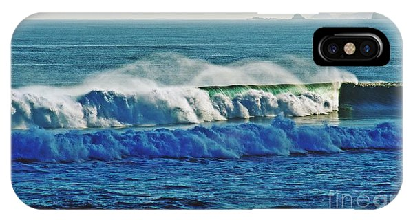 iPhone Case - Thunder Of The Waves by Blair Stuart