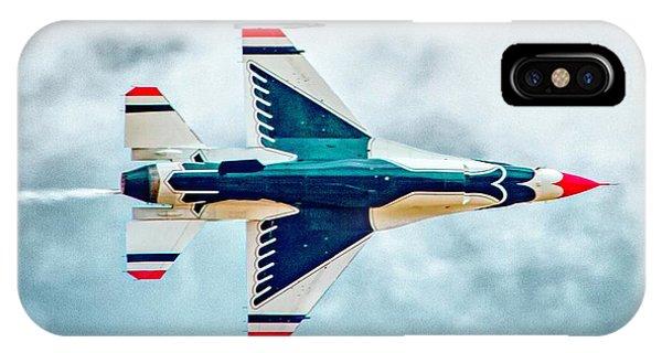 iPhone Case - Thunderbird Underbelly by Bill Gallagher