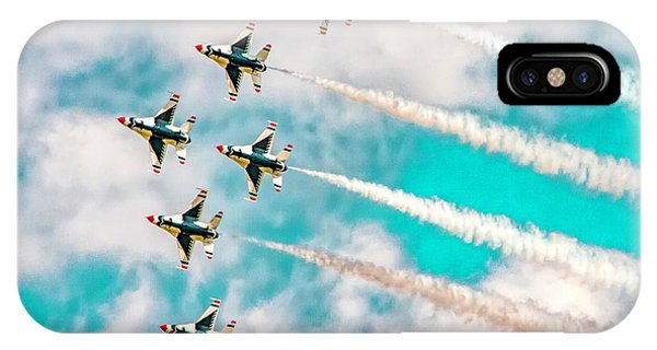 iPhone Case - Thunderbirds - All 6 by Bill Gallagher
