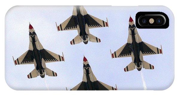 Thunderbirds Away IPhone Case