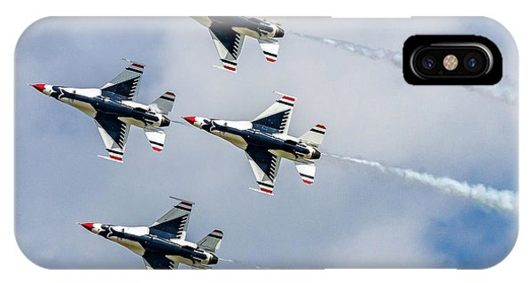 iPhone Case - Thunderbirds In Formation by Bill Gallagher