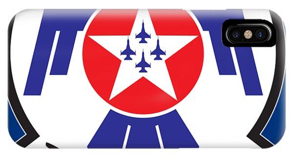 Thunderbirds Logo IPhone Case