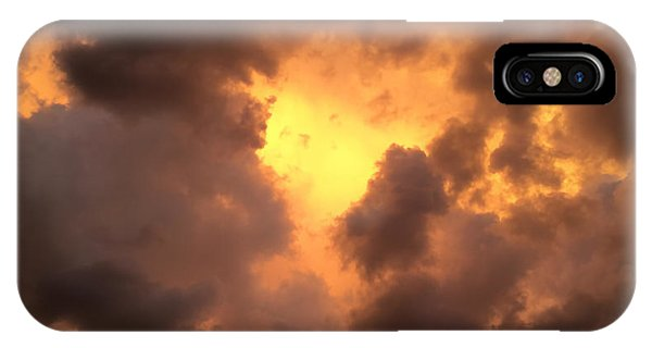 Thunderous Sunset IPhone Case