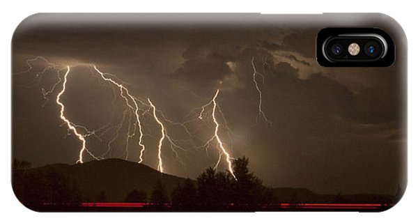 Thunderstorm IIi IPhone Case