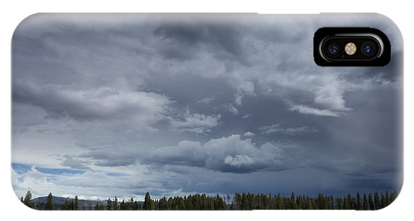 Thunderstorm Over Indian Pond IPhone Case