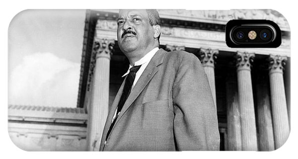 iPhone Case - Thurgood Marshall by Granger