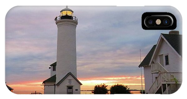 Tibbetts Point Lighthouse, July Sunset IPhone Case
