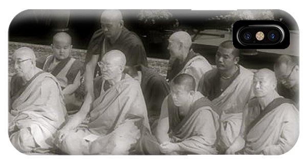 Tibetan Monks IPhone Case