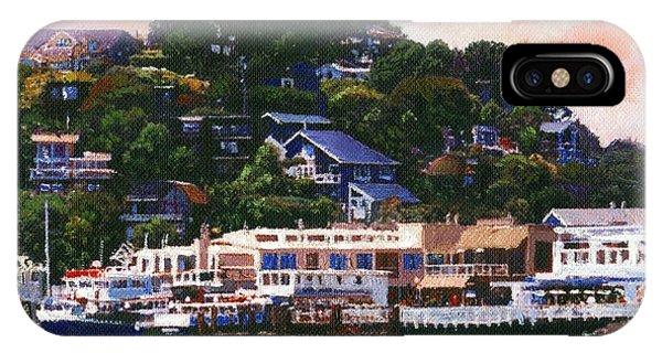 Tiburon California Waterfront IPhone Case