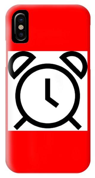 Tick Talk IPhone Case