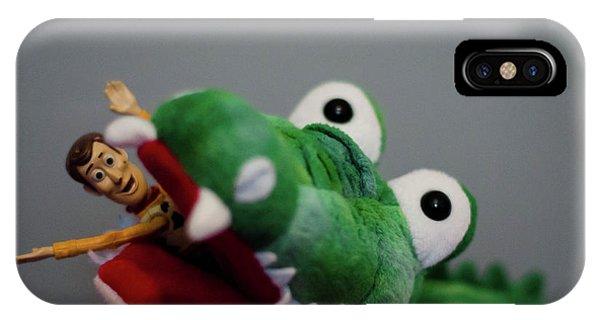 Tick Tock Crock IPhone Case