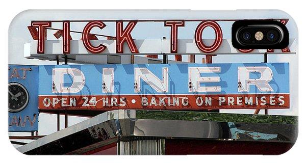 Tick Tock Diner IPhone Case
