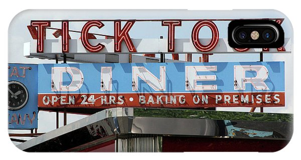 Tick Tock Diner IPhone Case