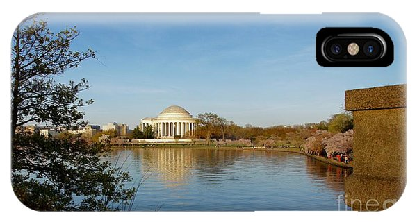 iPhone Case - Tidal Basin And Jefferson Memorial by Megan Cohen