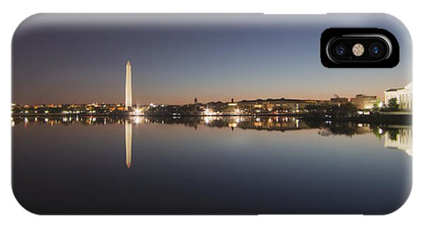 Tidal Basin At Night IPhone Case
