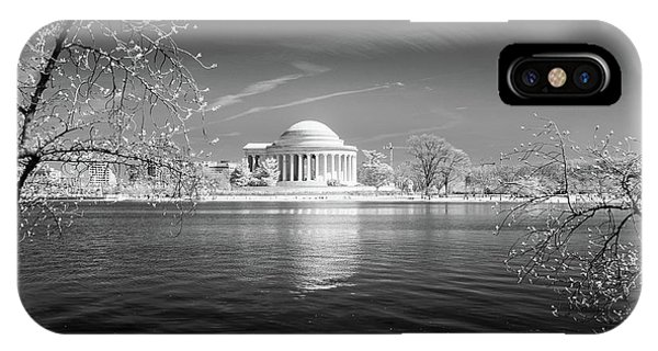 Tidal Basin Jefferson Memorial IPhone Case