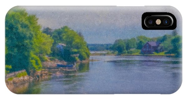 Tidal Inlet In Southern Maine IPhone Case