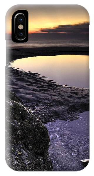 Tidal iPhone Case - Tidal Pool Reflections by Dustin K Ryan