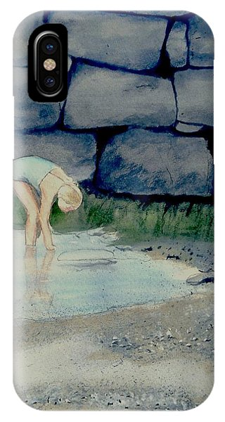 Tidal Pool Treasures IPhone Case