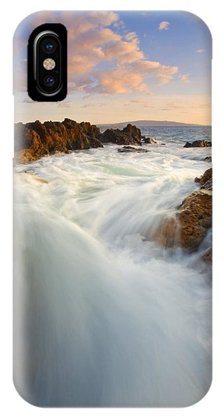 Tidal iPhone Case - Tidal Surge by Mike  Dawson