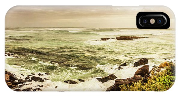 Stone Wall iPhone Case - Tidal Vastness by Jorgo Photography - Wall Art Gallery