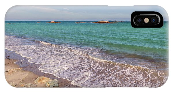 Tide Change At Minot Beach In Scituate Massachusetts IPhone Case