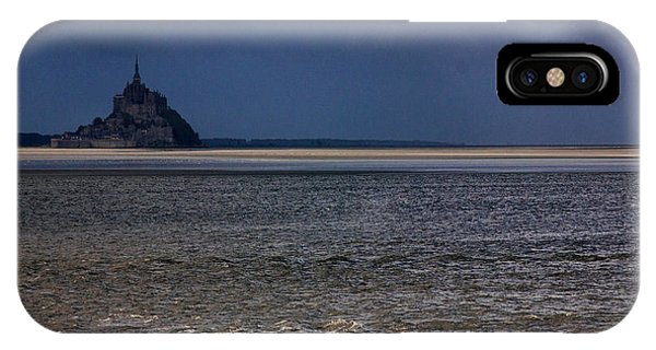 Tide In Mont Saint-michel Bay IPhone Case