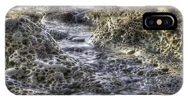 Tide Pool Waterfall IPhone Case