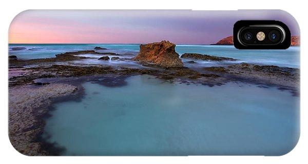 Kangaroo iPhone Case - Tidepool Dawn by Mike  Dawson