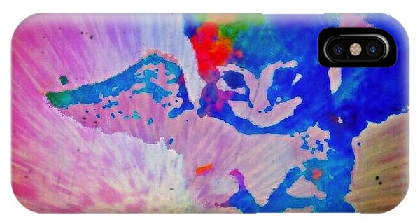 Tie Dye Tiger IPhone Case