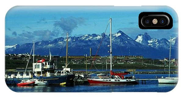 Tierra Del Fuego IPhone Case