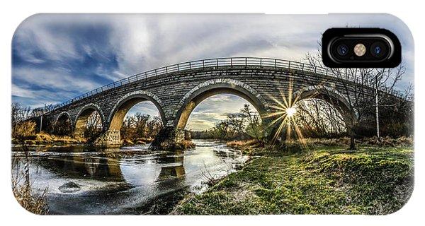 Tiffany Bridge Panorama IPhone Case