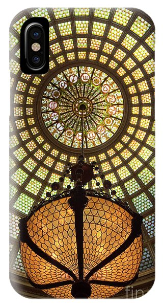 Tiffany Ceiling In The Chicago Cultural Center IPhone Case
