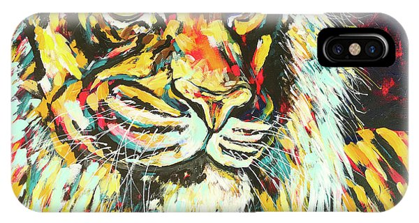 iPhone Case - Tiger #2 by Arrin Burgand