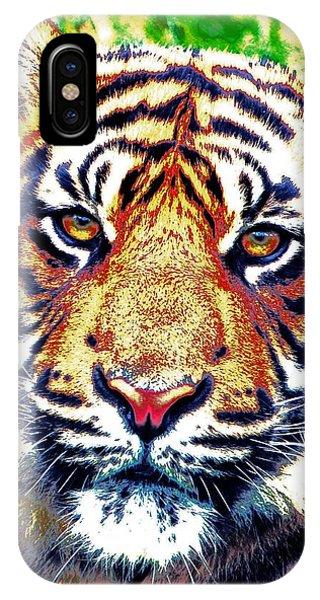 Tiger Art IPhone Case