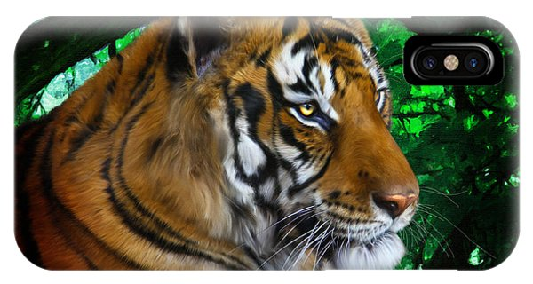 Tiger Contemplation IPhone Case