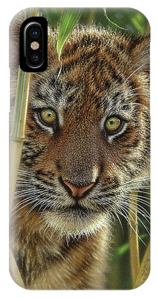 Tiger Cub - Discovery IPhone Case