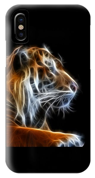 Tiger Fractal 2 IPhone Case
