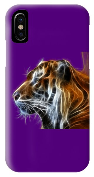 Tiger Fractal IPhone Case