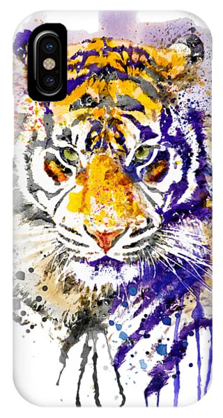 Tiger Head Portrait IPhone Case