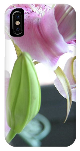 Tiger Lily Bud IPhone Case