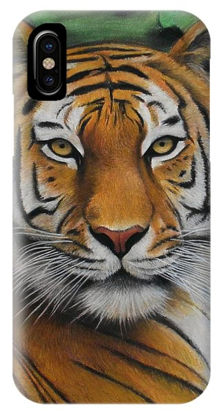 Tiger - The Heart Of India IPhone Case