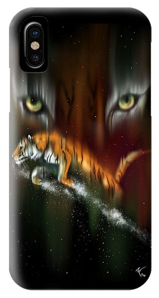 Tiger, Tiger Burning Bright IPhone Case