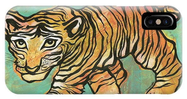 Tiger Trance IPhone Case