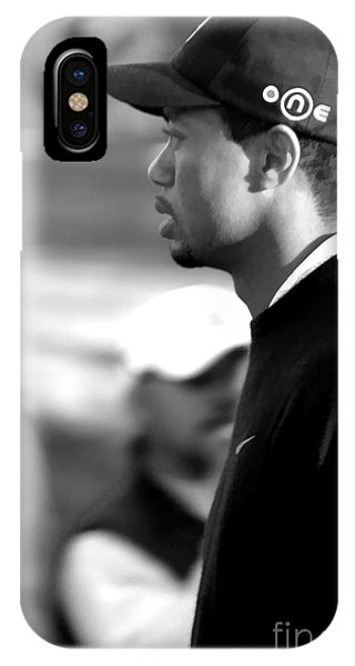 Tiger Woods Bw 2005 IPhone Case