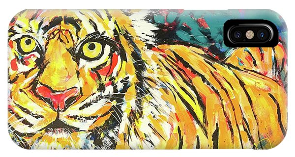 iPhone Case - Tiger#1 Zoo Atlanta by Arrin Burgand