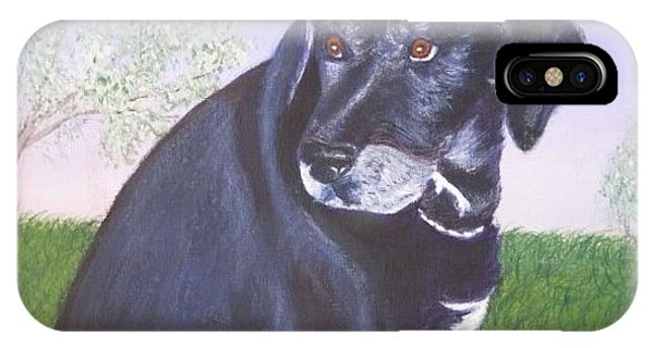Tiko, Lovable Family Pet. IPhone Case