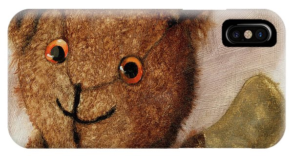 Tillie - Vintage Bear Painting IPhone Case