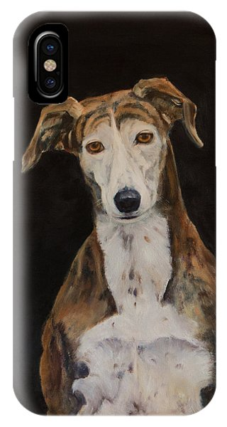 Tilly The Lurcher IPhone Case
